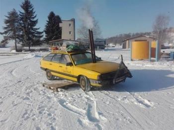 Самый необычный тюнинг старого автомобиля