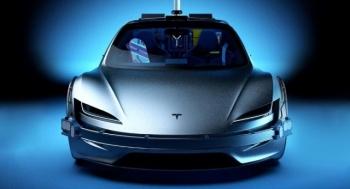"""Tesla Roadster вместо DeLorean из фильма """"Назад в будущее"""" - «Хорошее настроение»"""