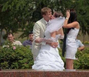 Забавные свадебные фотографии (50 фото)