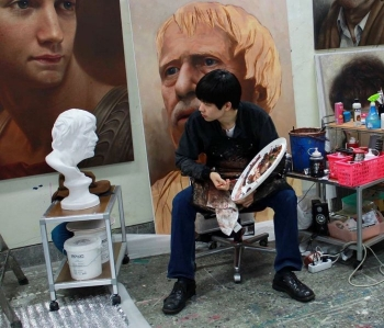 Гиперрреалистичные портреты персонажей картин и скульптур (16 фото)