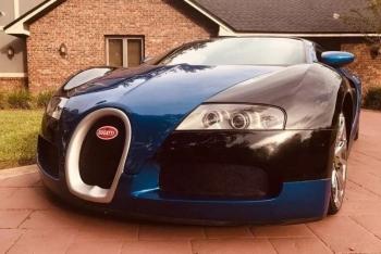 """""""Bugatti Veyron"""" продают в 20 раз дешевле оригинала - «Хорошее настроение»"""