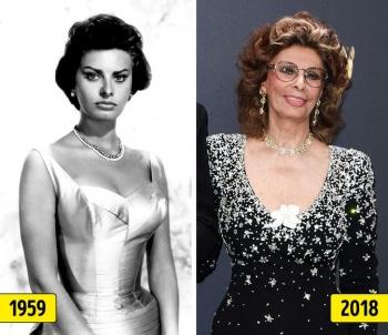 Звезды 1930-70х тогда и сейчас (22 фото)