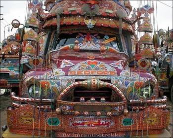 Интересный дизайн автомобилей в Пакистане - «Хорошее настроение»