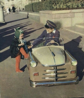 Дети в СССР (19 фото)