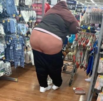 Люди в американских супермаркетах (20 фото)