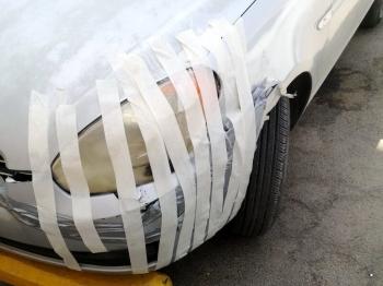 Не самый профессиональный ремонт машин - «Хорошее настроение»