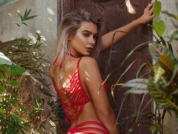 Новый тренд Instagram-моделей - бикини из полосок - «Хорошее настроение»