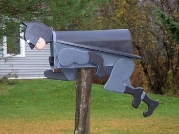 Очень необычные почтовые ящики - «Хорошее настроение»