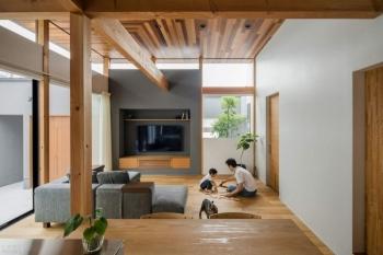 Семейный дом в традиционном японском стиле (18фото)