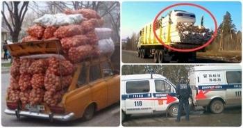 Только на дорогах России