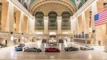 Pagani превратили вокзал Нью-Йорка в выставку суперкаров - «Хорошее настроение»