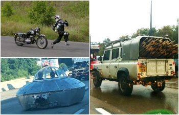 Уморительные случаи на дорогах