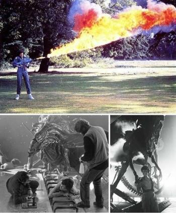 На съемочных площадках известных фильмов (19 фото)