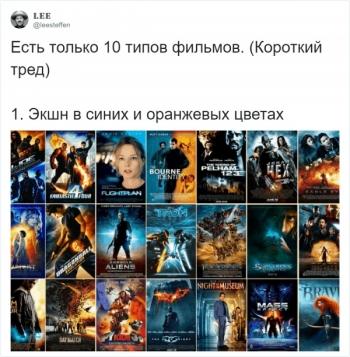 Почти все постеры к фильмам делятся на 10 типов (24 фото)
