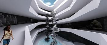 Русский архитектор предложил возвести роскошное зеркальное здание на месте обрушившегося Лазурного окна - «Фото»
